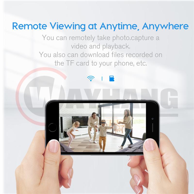 4K Mini Camera WiFi Smart Wireless Body Camcorder IP Hotspot HD Night Vision Video Micro Small Cam Motion Detection