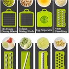 Vegetable 12 In 1 Mandolin Slicer Chopper Grater Multifunctional Vegetable Cutter Slicer Vegetable Slicer Chopper Spiralizer
