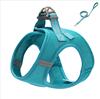 Sky blue chest strap+lesh