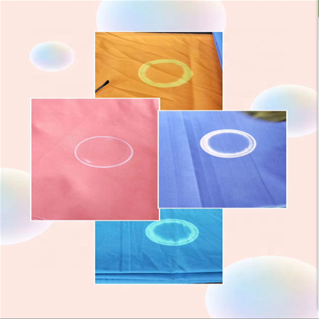 Полиуретановое полиэфирное серебряное покрытие, смарт-ткани меняют цвет