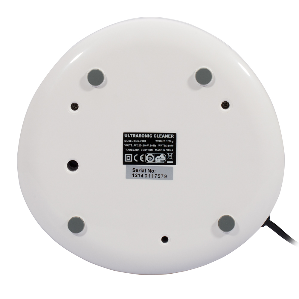 Codyson CDS-200B Регулируемая мощность цифровой дисплей таймера Ультразвуковой очиститель для ювелирных изделий