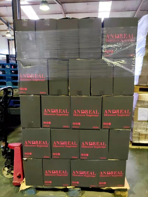 Полусухое розовое вино 1,5 страмберри и вишни, зарезервные бутылки Магнума 12%, Andreal Discover Spr LT