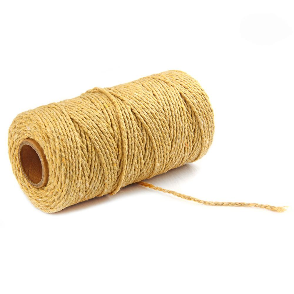 Wholesale hanging decoration strings 2mm to 10mm macrame cord cotton rope 100 meters each roll