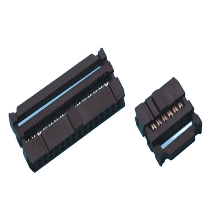 2,54 мм IDC коннектор 6 8 10 12 14 16 18 20 22 24 26 30 34 40 44 50 60 68 контактов CE ROHS LL1033-1