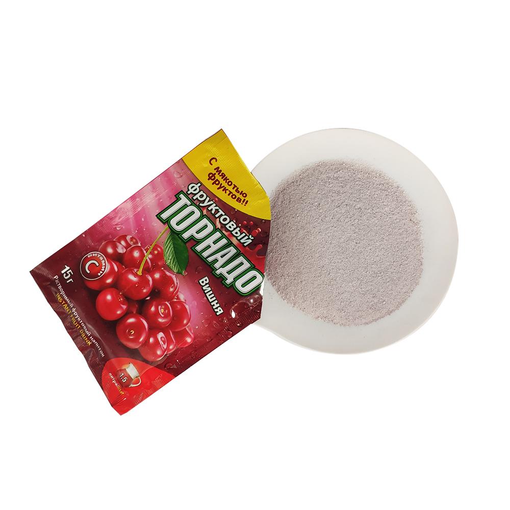 Мгновенный напиток, ароматизированный порошок вишневого фруктового сока