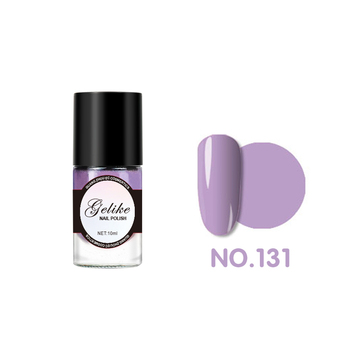 Private label mini bottle air dry nail enamel lacquer paint children mirror effect semi permanent regular finger nail polish
