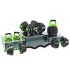 Green--kettlebell