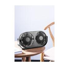 2 в 1 USB настольный вентилятор охлаждения эфирное масло аромадиффузор многофункциональный двойной вентилятор для домашнего офиса Регулируе...(Китай)
