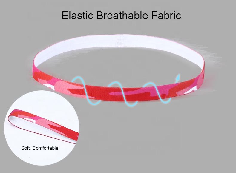 Экологичная популярная модная эластичная повязка на голову для мужчин и женщин, для баскетбола, бега, спорта, фитнеса, йоги, тренажерного зала