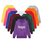 Winter Long Sleeves Anti-pilling mens oversized Purple wind Hoodies with Pocket