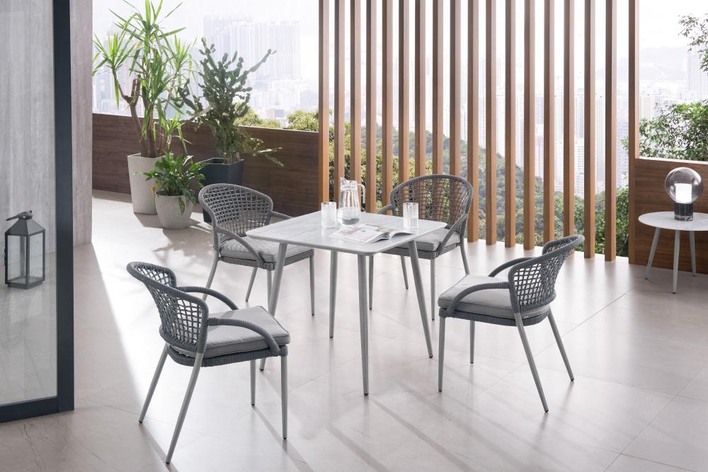 new design PE wicker chair for outdoor modern rattan wicker chair