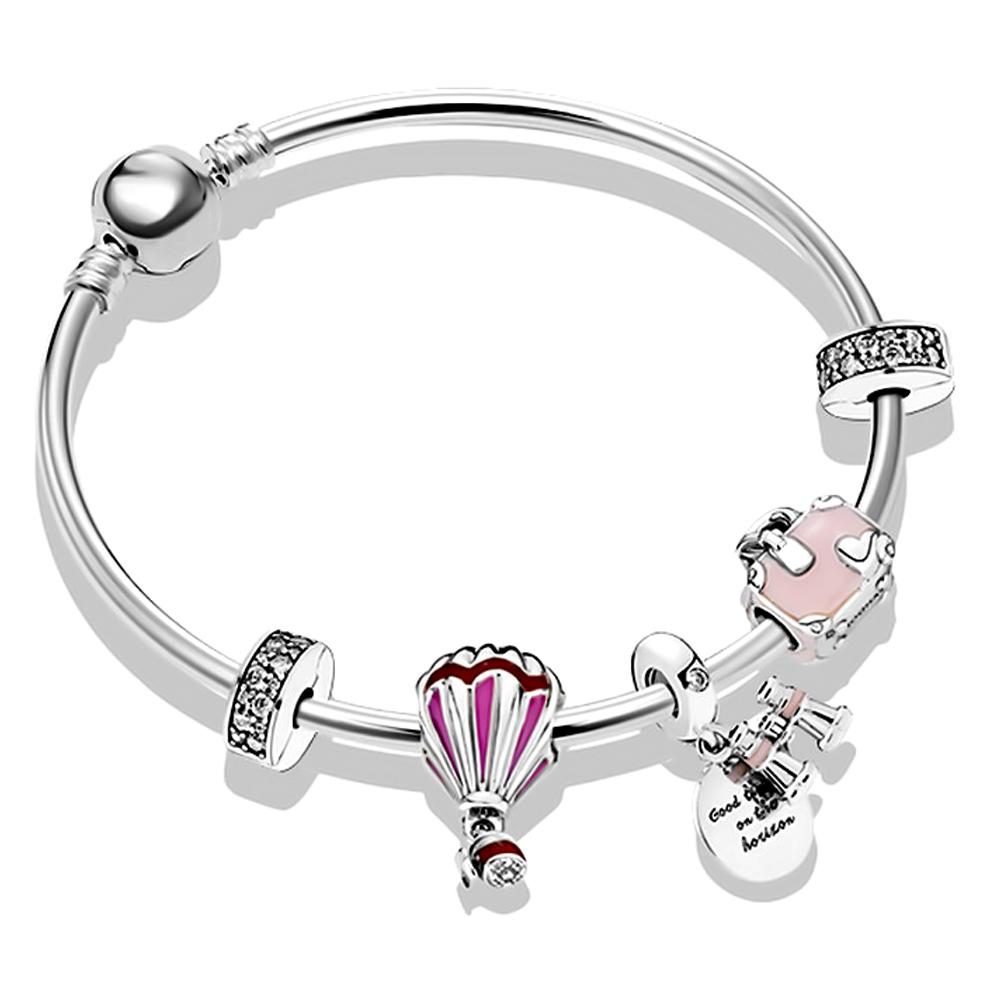 Wholesale 925 Sterling Silver Charms Fit Pandora Bracelets Pendants Charms Beads Fit Pandora Bangle Bracelet Buy Bracelet Bangle Woman Charm Bangle Bracelet Bangles For Women Jewelry Product On Alibaba Com