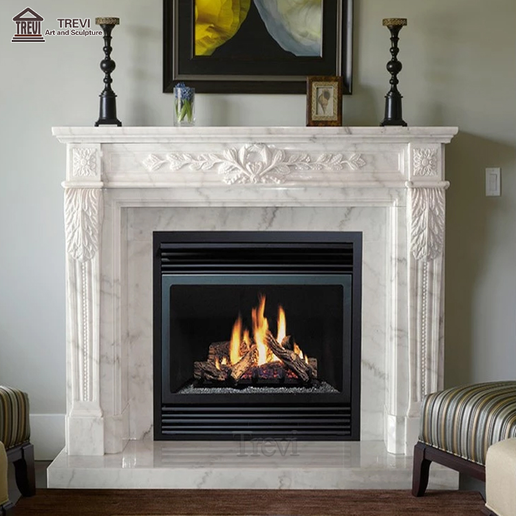 Hot Sale Home Decoration Marble Fireplace on Sales