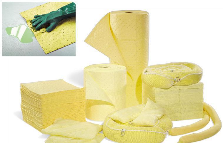 Хит продаж, впитывающие подушечки с опасными химическими веществами для разлива жидкости