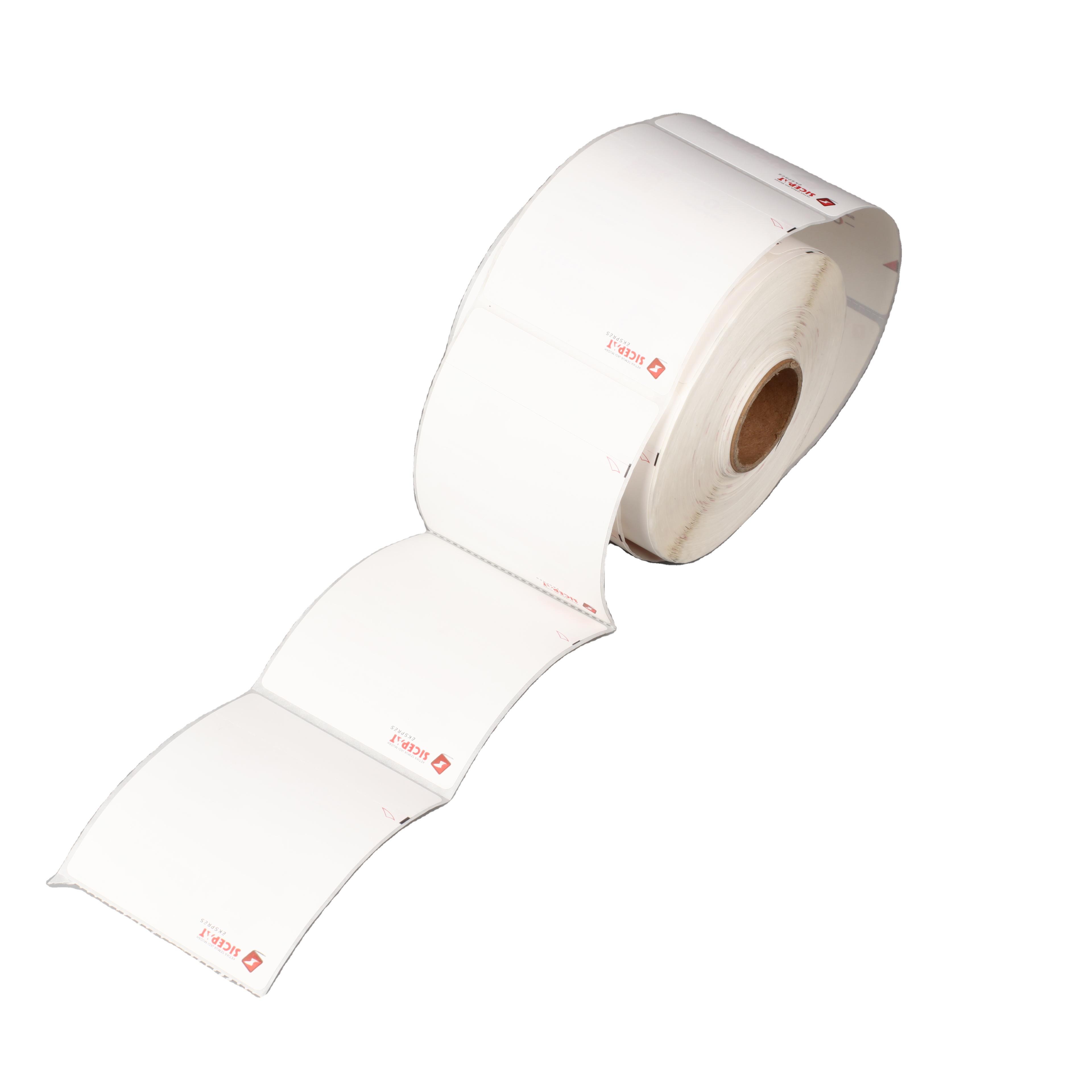 High-quality Custom Direct Printing Express Logistics Sticker Waybill Blank Shipping Thermal Label