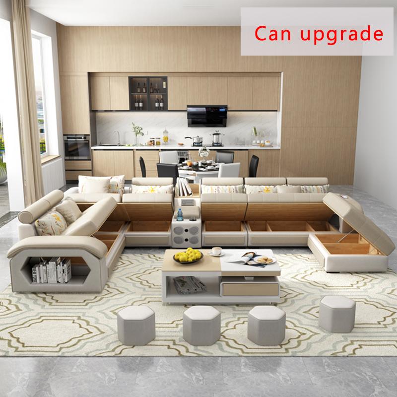 Настраиваемая мебель, Заводские поставки диванов для гостиной/тканевый диван-кровать, Королевский диван, набор мебели для гостиной на 7 мест, дизайн мебели
