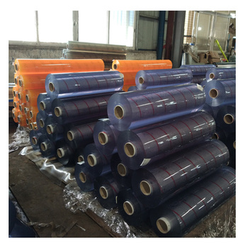 High Quality Custom thickness PVC transparent Film Roll For PVC Product