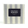 Thick vertical striped fabric