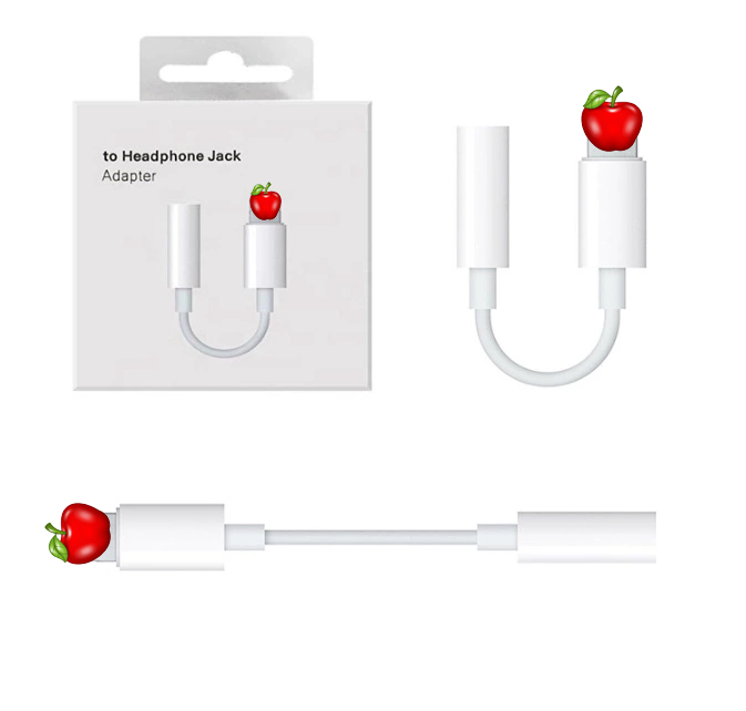 LAIMODA for apple headphone jack adapter for iphone adaptor lightning to 3.5 mm headphone jack adapter