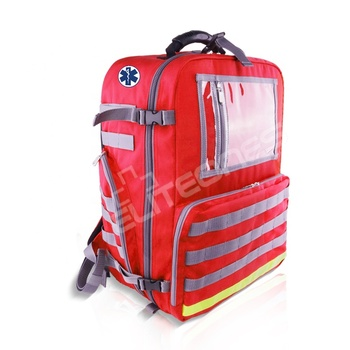 Escape paramedic Rescue Survival Bag Ambulance Respiratory Equipment Outdoor Hiking Hydro March Water Bag Emergency Backpack