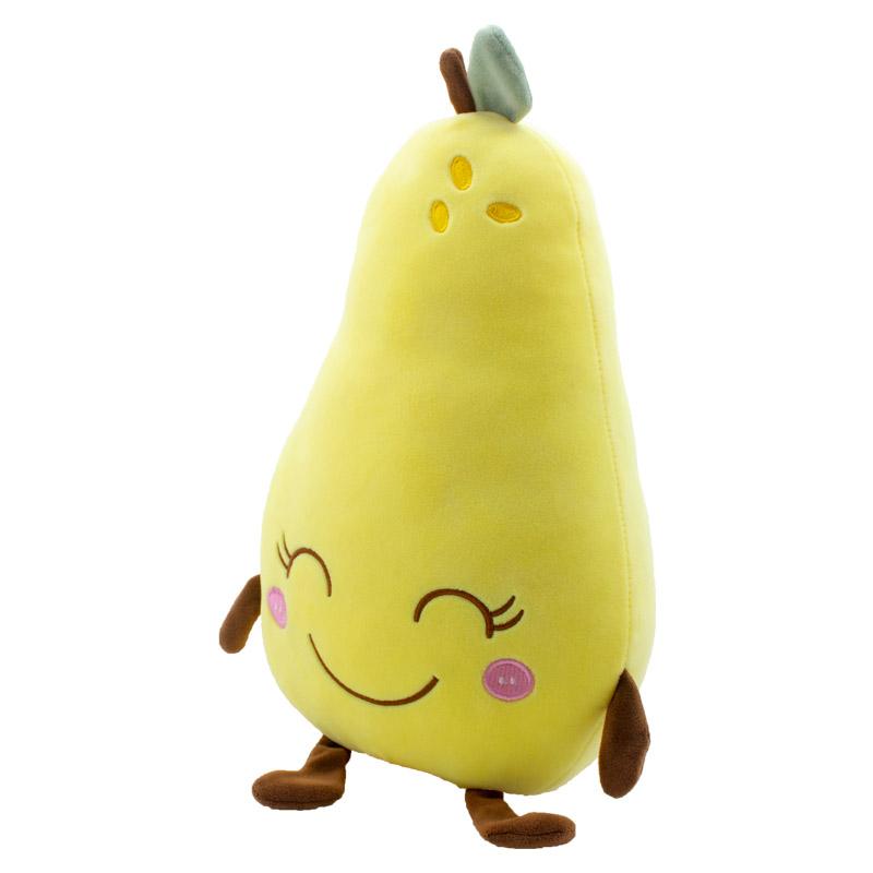 OEM ODM 2021 Kawaii High Quality Good Source Of Materials Stuffed Fruit Pear Plush