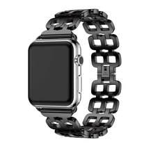 Ремешок из нержавеющей стали для Apple Watch 38 мм 42 мм ремешок с металлическими звеньями браслет iWatch ремешок serice 6 5 3 2 Apple Watch ремешок 44 мм 40 мм(Китай)