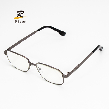 Wholesale Titanium Progressive Anti Blue Ray Computer Eyewear Reading Glasses