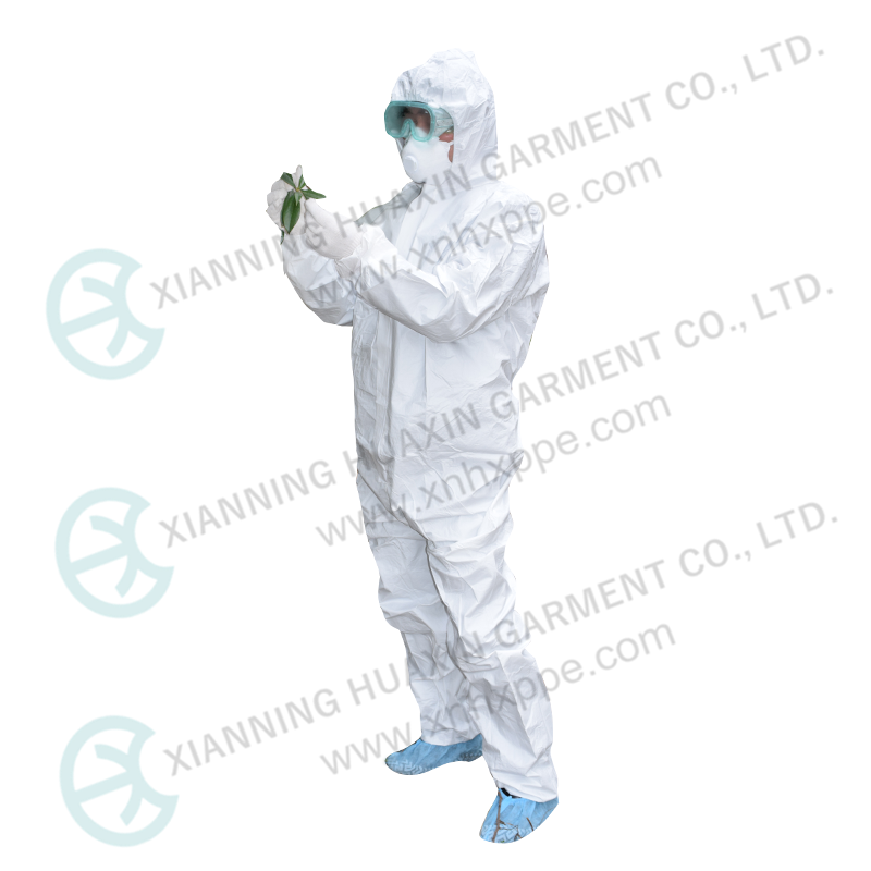 TYPE 5B 6B Liquid Penetration Protection Full Cover Disposable Work Overall - KingCare | KingCare.net