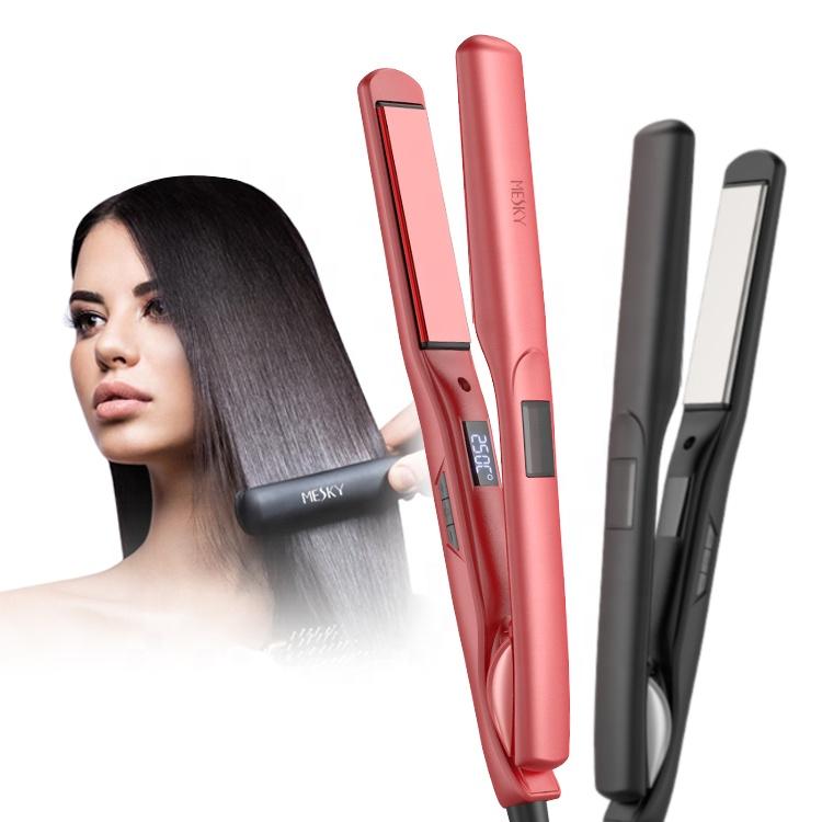 Wholesale Private Label Best Flat Iron Straighteners Professional Ceramic Titanium Irons Hair Straightener