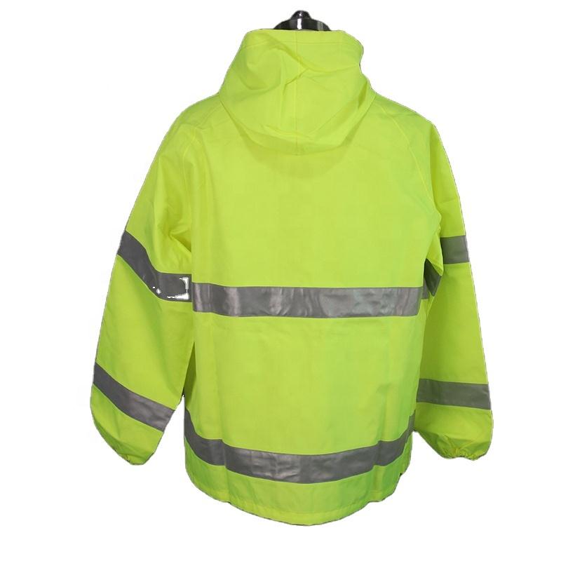 Hi видимая мужская куртка с подкладкой, Анорак, куртка с подкладкой Hi Vis
