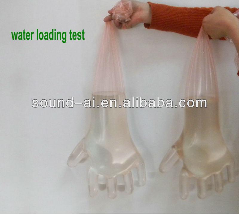 Одноразовые ветеринарные перчатки длины плеча