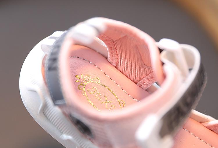 Новинка 2021, лидер продаж, модная повседневная обувь высокого качества, сандалии для девочек, детская обувь R31999S