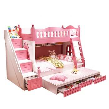 Hot Sale Environment Friendly Kids Twin Size Bedroom Sets