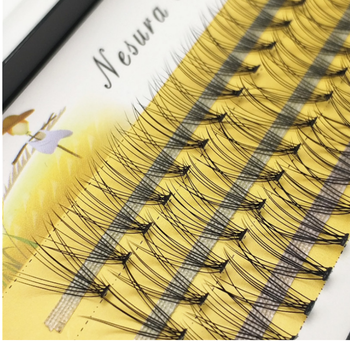 private label 10D Individual eyelash clusters mink individual lashes with eyelash private branding