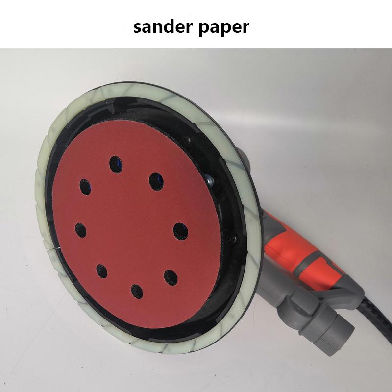 180 мм шлифовальная машина для сухих стен со светодиодной подсветкой
