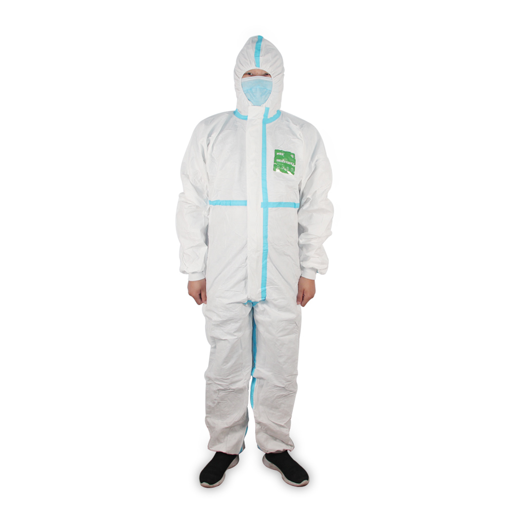 Waterproof Disposable Taped Seam Microporous Coverall Personal Protective Coveralls - KingCare | KingCare.net