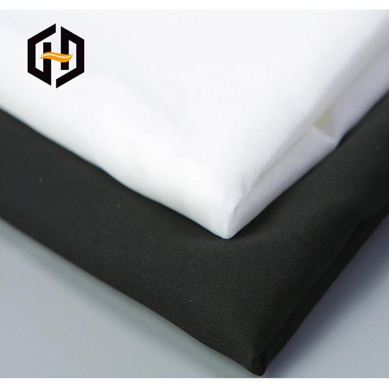 OEM мягкий оптовый полиэстер хлопок трико подкладка трикотажная ткань для одежды костюм