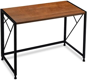 Writing Computer Desk Office Folding Table Modern Simple Work Study Desk Industrial Style PC Laptop Table