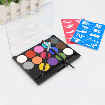 Professional Quality Safe Non-Toxic Easy to Painting And Washing Face Paint Kit for Kids