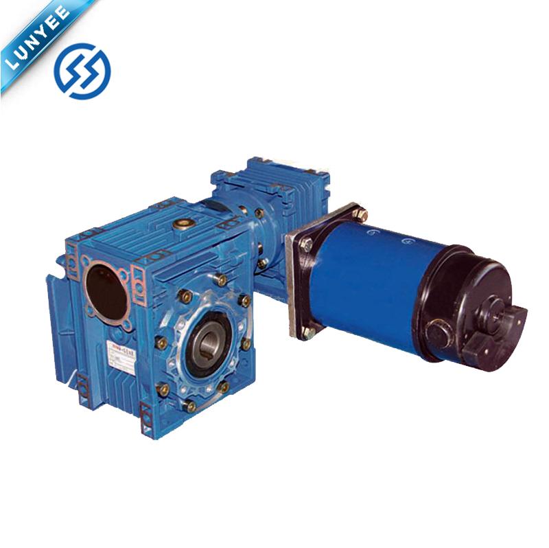 Электрический червячный редуктор постоянного тока 12 В 24 в 110 В 220 В
