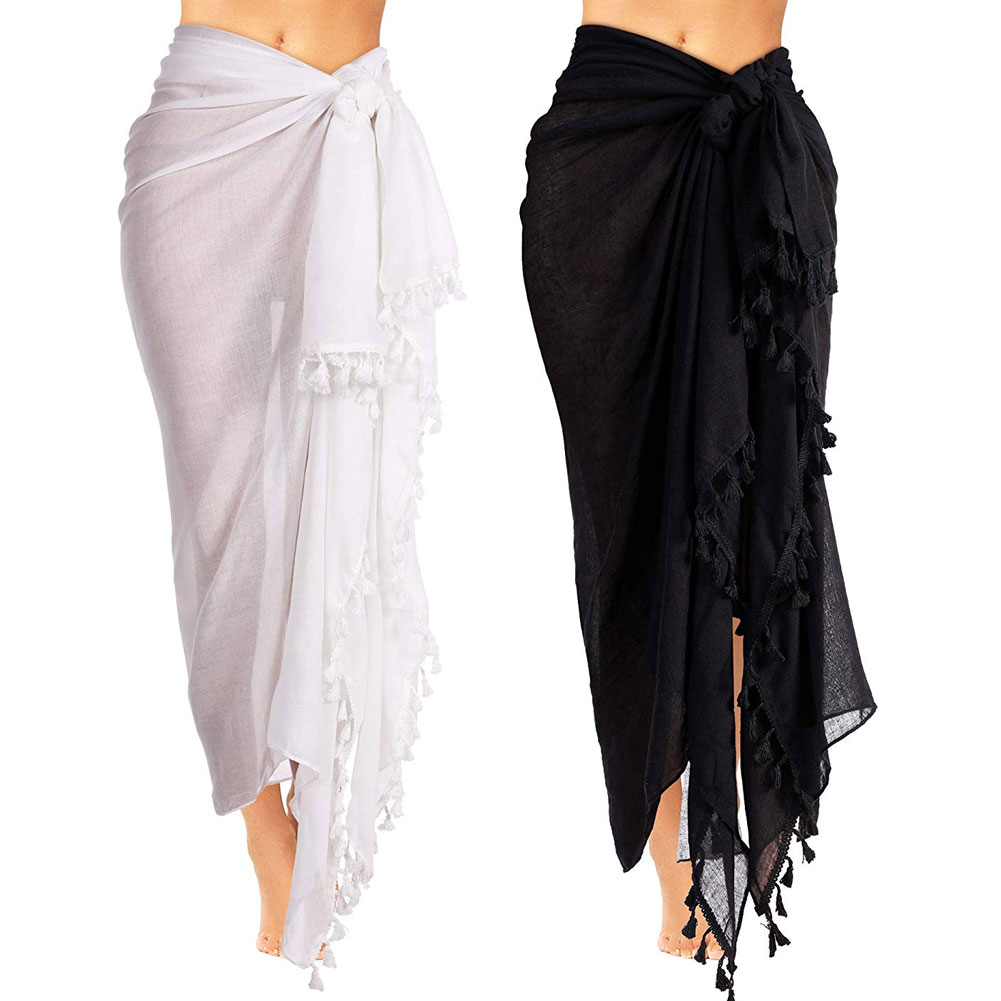 Beach Wear Cover Up Swimsuit Wrap Skirt Sarong Dress Women Swimwear Bikini Uk Aliexpress