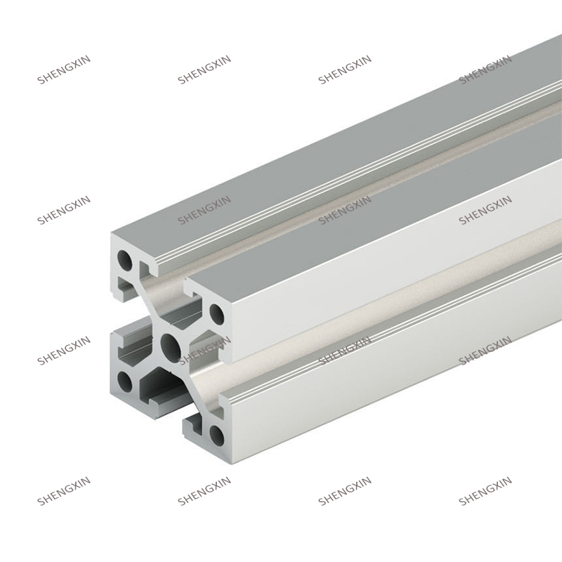 Алюминиевый экструзионный профиль Shengxin 4040 для промышленной экструзии алюминия 45x45