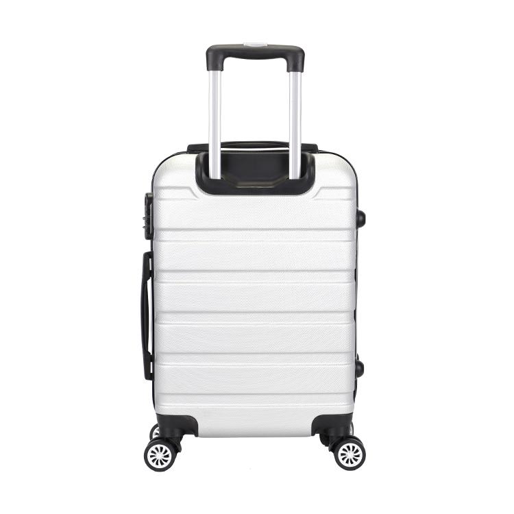 20 дюймов дешевый изготовленный на заказ кодовый замок комплект багажа abs чемодан