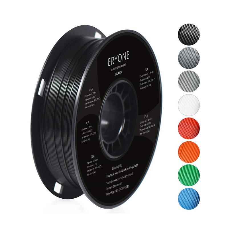 Eryone 3D Printing Filament 1.75mm PLA 1KG Spool Various Colors