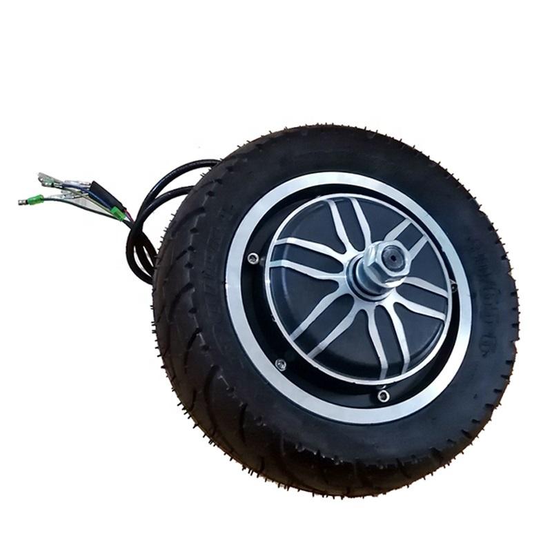 Двойной выходной вал, 10 дюймов, 48 В, 1000 Вт, ступичный мотор для электровелосипеда, скутера