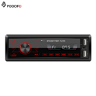Podofo Autoradio 12v 1Din Touch Keys Car Video Radio Bluetooth Car Stereo In-dash MP3 Player Phone AUX-IN FM / USB / Radio