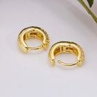 Earring Gold Earrings Plated Hoop Earrings 2020 New Fashion Jewellery Earring Set Gold Plated Hoop Earrings