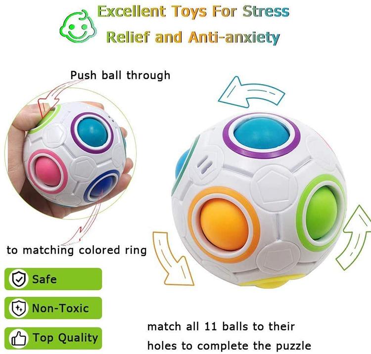 Sensory Fidget Toys Set Sensory Tools Bundle Stress Relief Hand Toys Kids Autism Fidget Sensory Toy Set