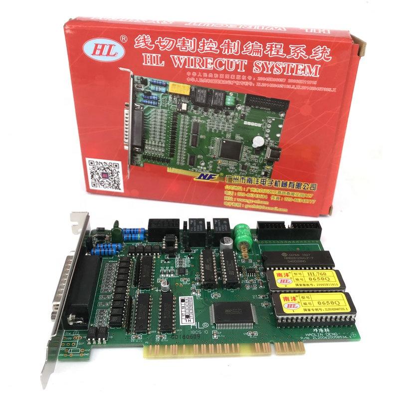 Wire Cut Parts HL Main Card Control System Board HL760 Original Win 98 for CNC WEDM High Speed Machine