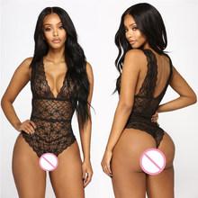 Сексуальное женское нижнее белье с v-образным вырезом, кружевное нижнее белье с цветочным принтом(Китай)